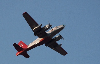 Fire Tanker over Prescott.